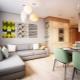 Современное проектирование трехкомнатной квартиры