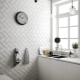 Белая плитка: тонкости оформления интерьера