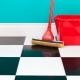 Чем отмыть плитку на полу после ремонта?