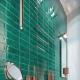 Использование стеклянной плитки в дизайне интерьера