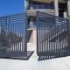 Металлические распашные ворота: виды конструкций