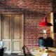 Плитка под кирпич в дизайне интерьера