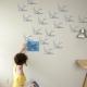 Трафареты для стен под покраску: оригинальные варианты отделки интерьера
