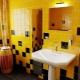 Желтая плитка: яркие акценты в дизайне интерьера