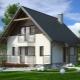 Дом размером 6 на 8 с мансардой: красивые проекты