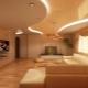 Двухуровневые натяжные потолки с подсветкой: интересные идеи в интерьере