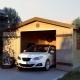 Каркасный гараж: особенности изготовления