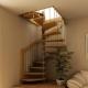 Особенности конструкций лестниц на мансарду