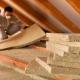 Особенности утепления потолка минватой