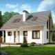 Проект дома размером 8 на 9 с мансардой
