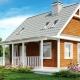 Проекты домов с мансардой площадью до 120 м2