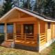 Баня из бруса размером 150х150: красивые варианты построек