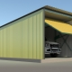 Особенности металлического разборного гаража