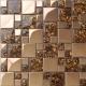 Золотая мозаика: примеры оформления интерьера