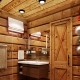 Баня в стиле «шале»: красивые дизайнерские решения