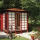 Беседка в японском стиле: особенности восточного дизайна