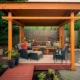 Мебель для беседки: выбор материалов и дизайна