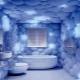 Пластиковые панели с 3D-рисунком в дизайне интерьера ванной