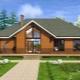 Одноэтажные дома размером 12 на 8