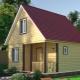 Дом размером 6х6: проекты и планировка