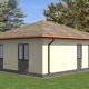Проекты домов из газобетона размером 10х10 метров