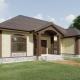 Проекты трехкомнатных домов