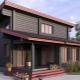 Проекты двухэтажных домов с односкатной крышей