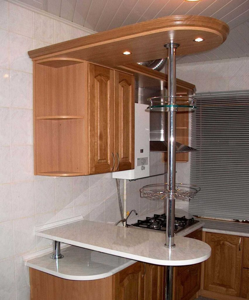 Как сделать барную стойку на кухне своими руками из гипсокартона