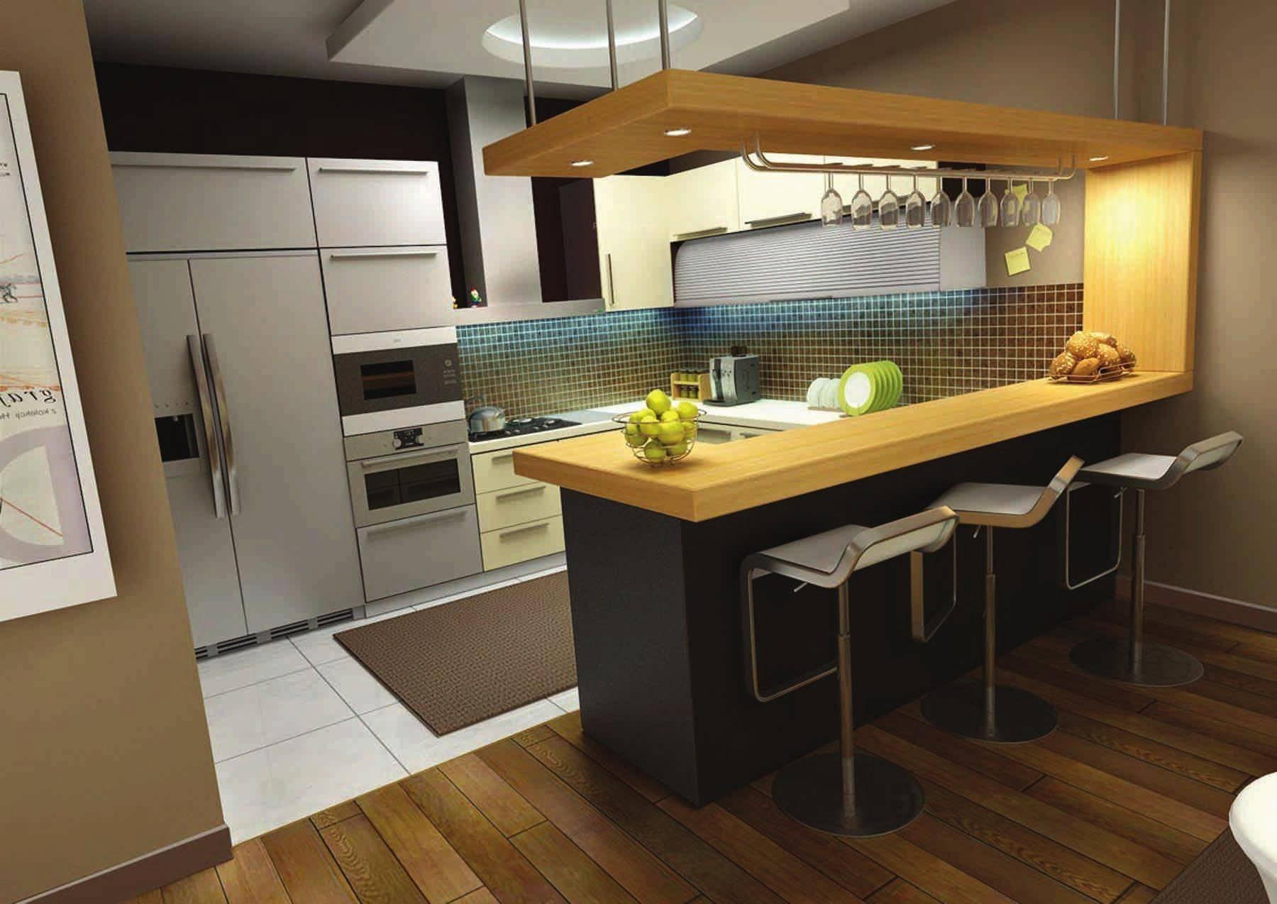 Кухонная барная стойка