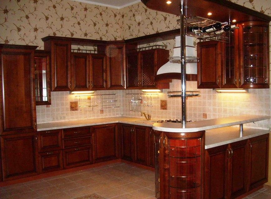 Кухня из кирпича своими руками в квартире фото 675