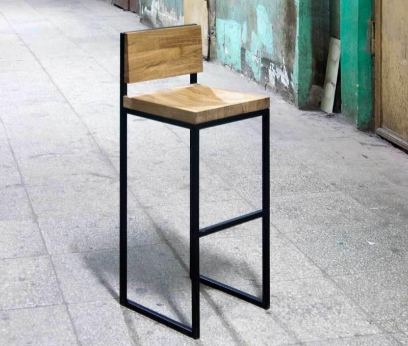 Барный стул из металла своими руками 13