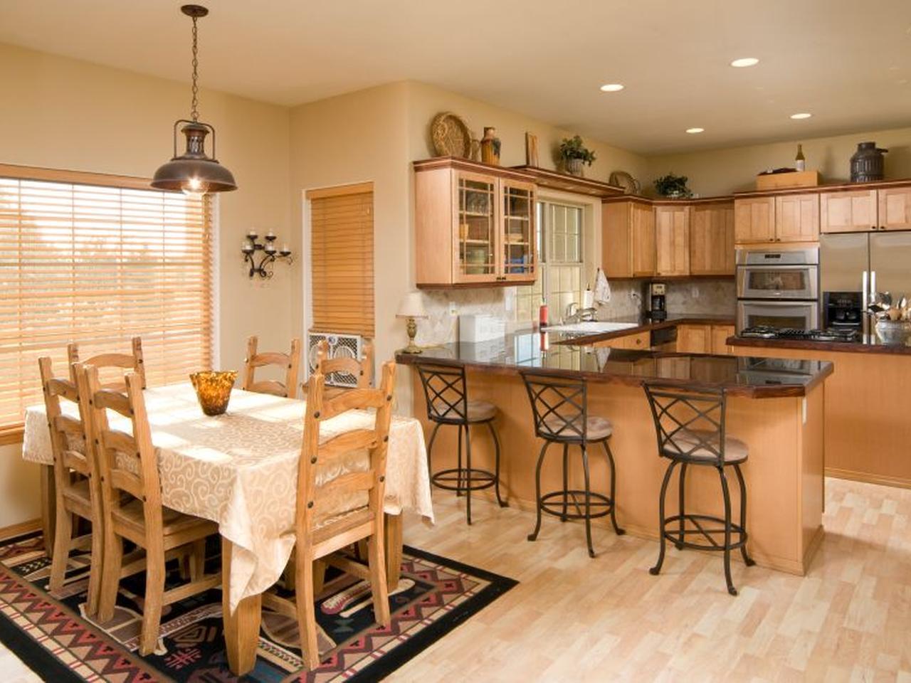 Дизайн интерьера для кухни столовой