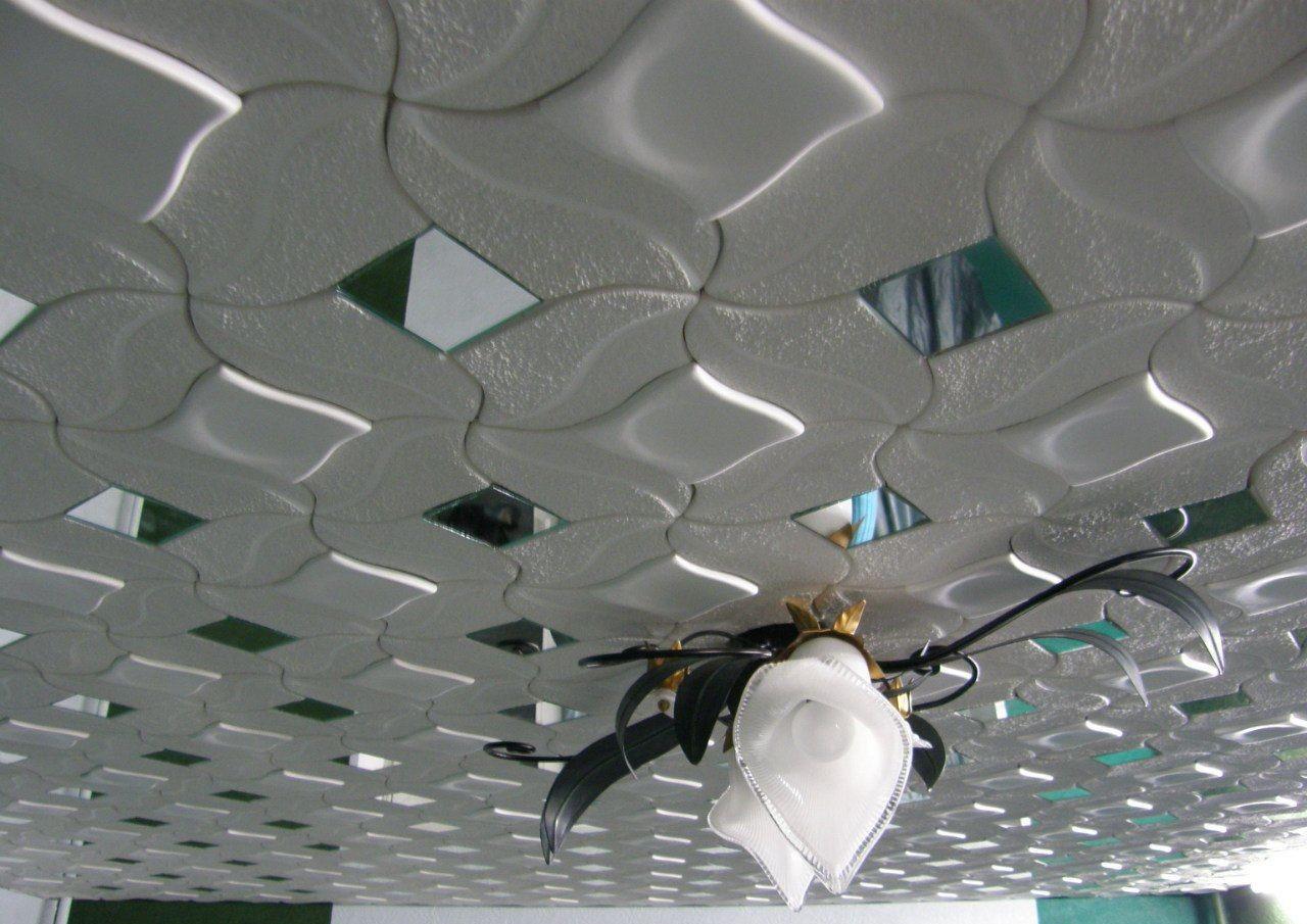 Самолет из потолочной плитки » Сделай сам 4
