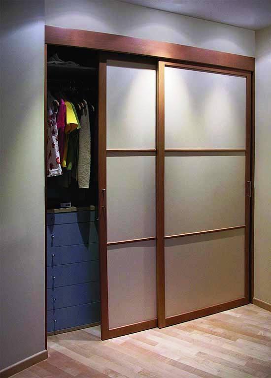 Двери купе в гардеробную (100 фото): как сделать купейные и .