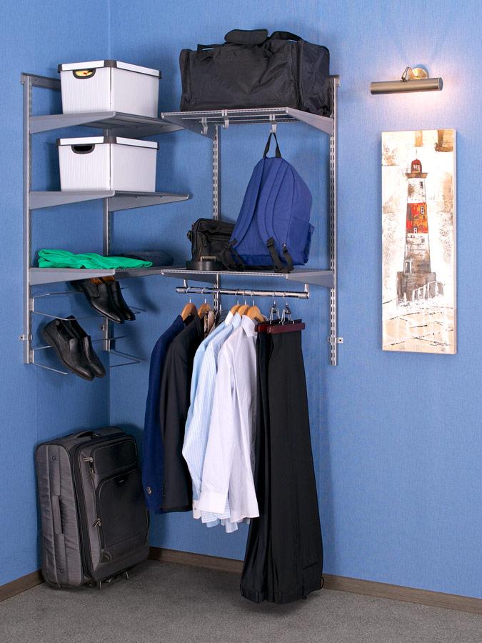 Упорядочьте пространство с гардеробными системами