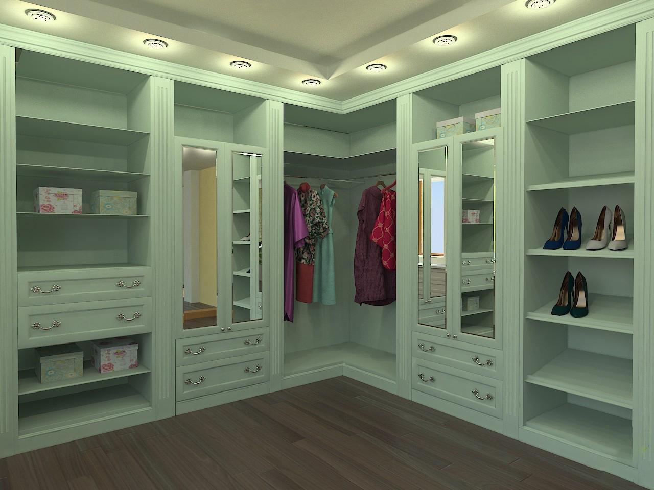 Гардеробные шкафы (65 фото): встраиваемый гардероб, встроенн.