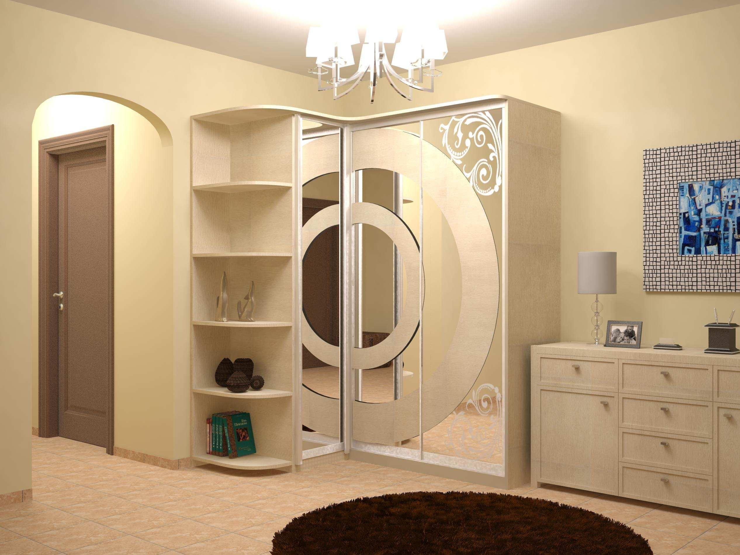 гардеробные шкафы купе 60 фото встроенные и угловые для прихожих