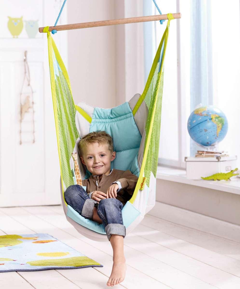 Детское подвесное кресло-качели