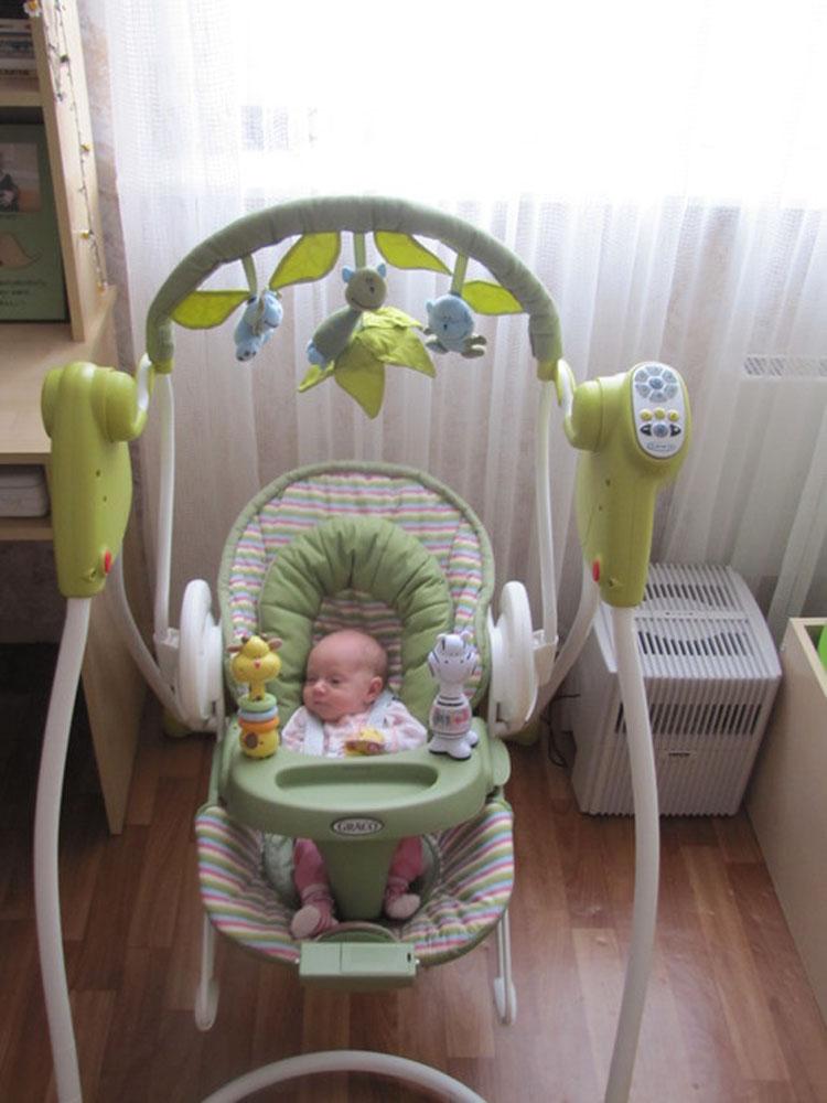 Электронные качели для новорожденных рейтинг лучших