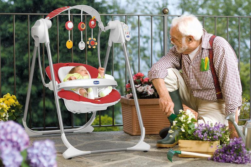 Как выбрать качели для новорожденного ребенка