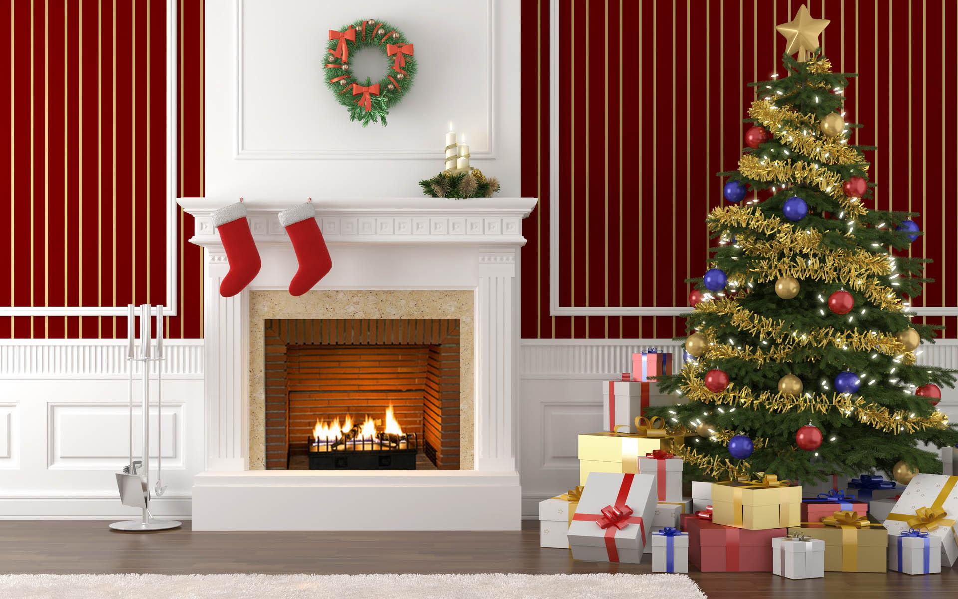 трапециевидную мышцу новогодние картинки елка с подарками и камином точки зрения поисковиков