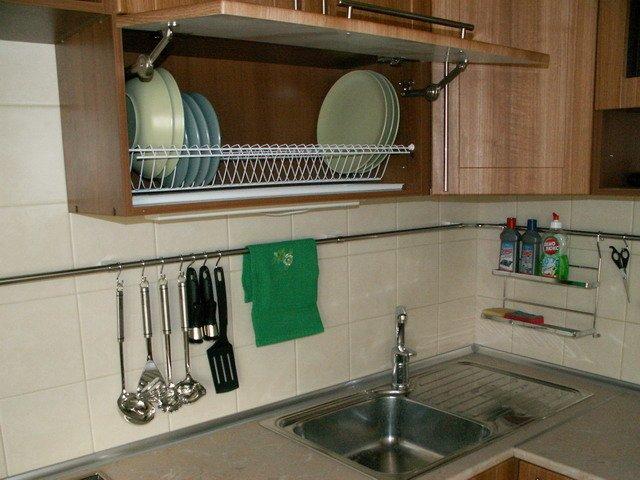 Как расположить рейлинги на кухне - установка 87