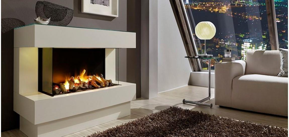 Камин электрический с эффектом пламени 3d в интерьере металлическая печь-барбекю
