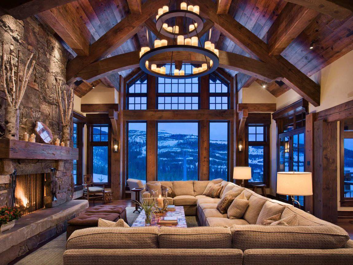Обустройство комнаты для отдыха в доме или квартире на фото