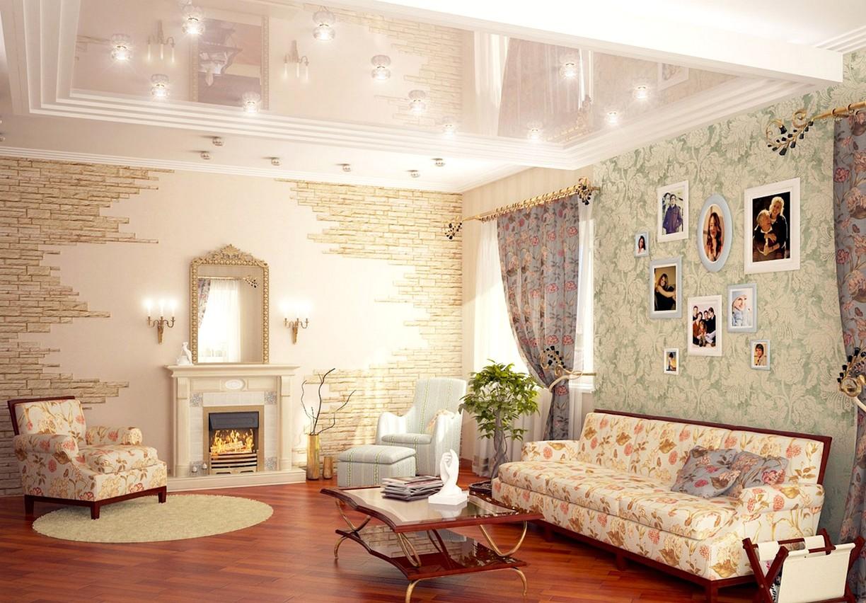 Интерьер в стиле прованс в квартире фото своими руками