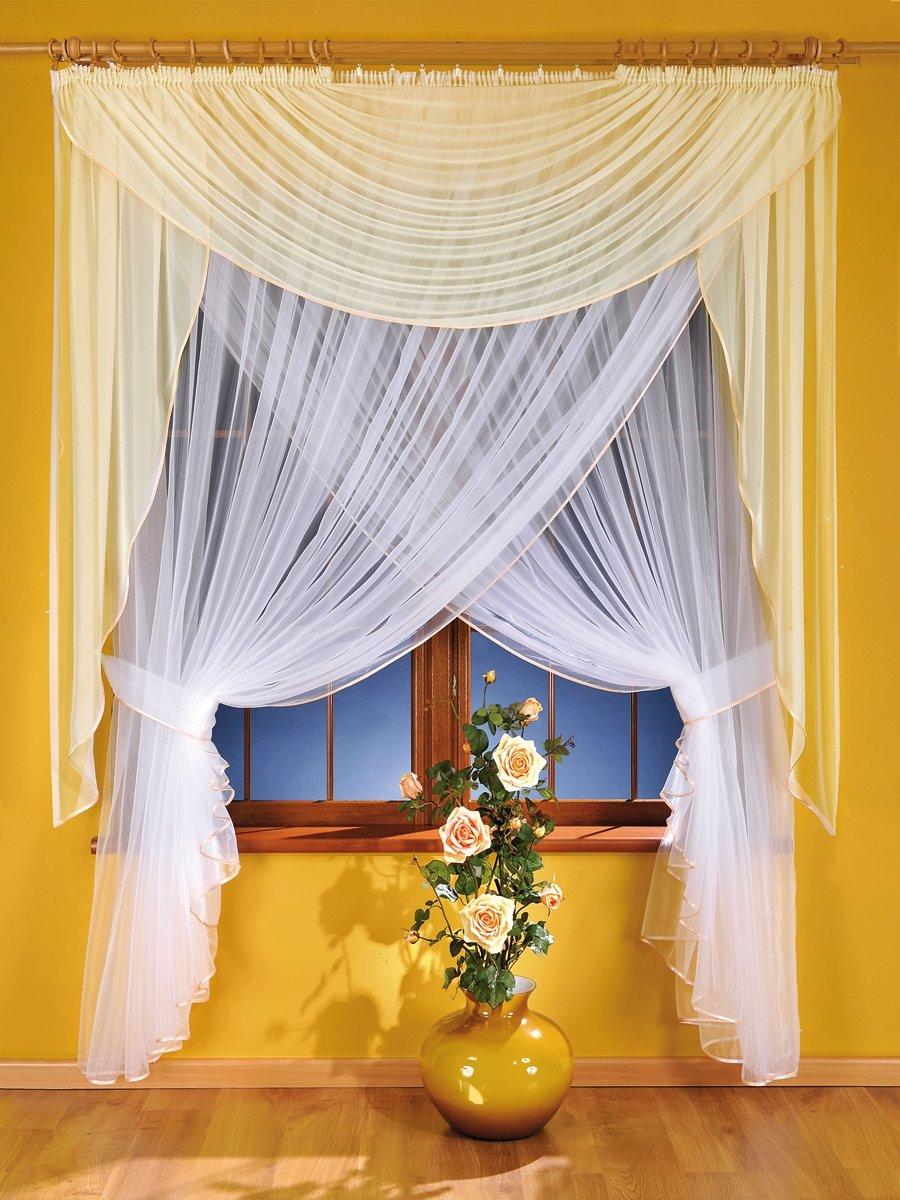 Короткие шторы для зала фото