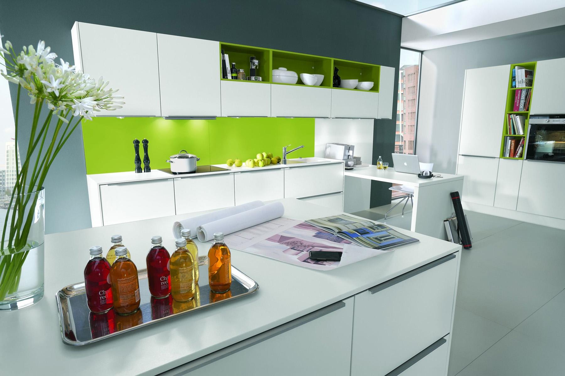 Кухни с открытыми полками дизайн