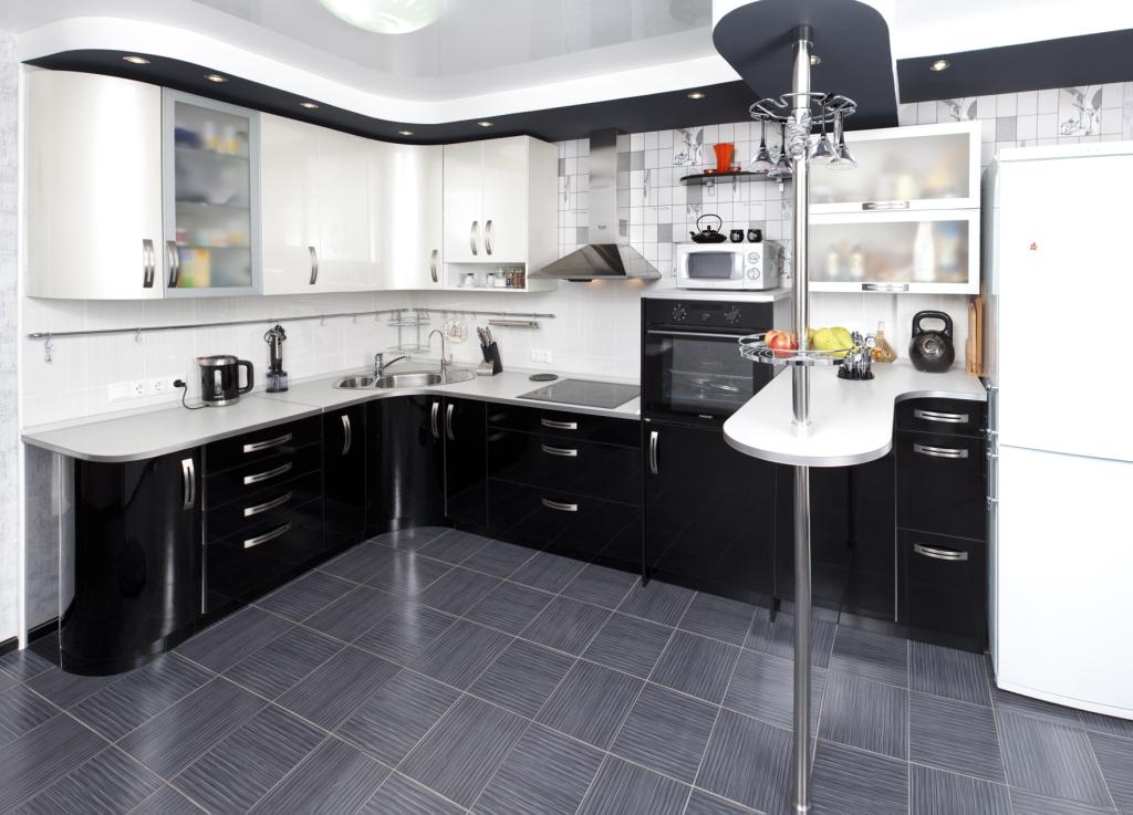 кухонный гарнитур с барной стойкой 51 фото планировка для кухни