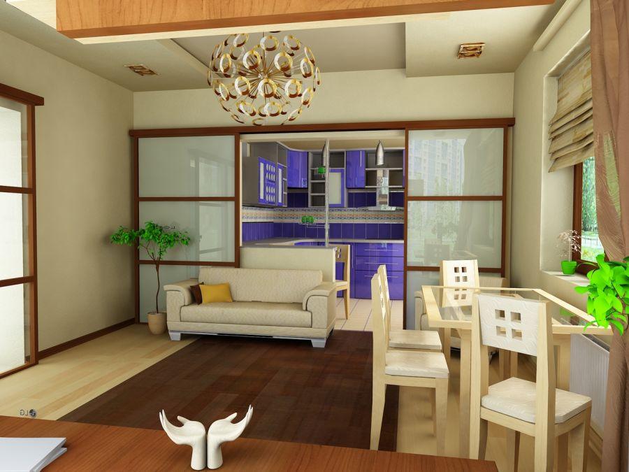 маленькая кухня гостиная 54 фото дизайн в интерьере совмещенной
