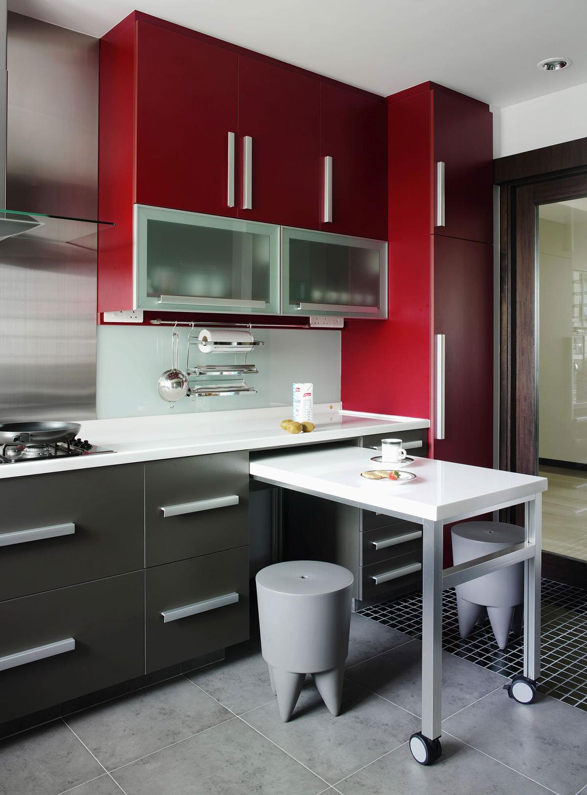 дизайн маленькой кухни фото с барной стойкой